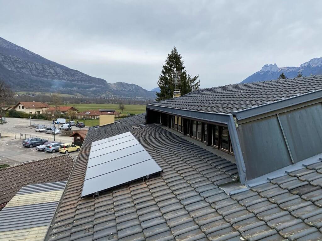 Installation de panneau photovoltaiques