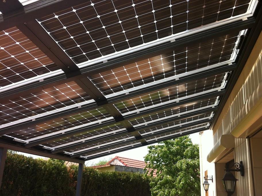 kit panneau solaire abris de jardin