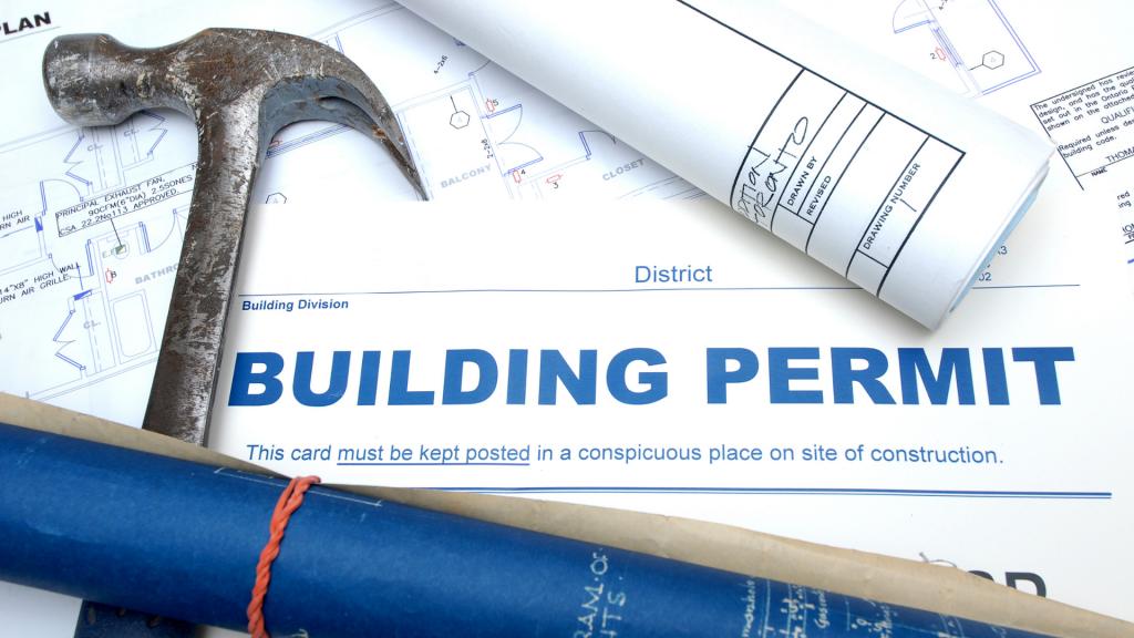 Un permis de construire